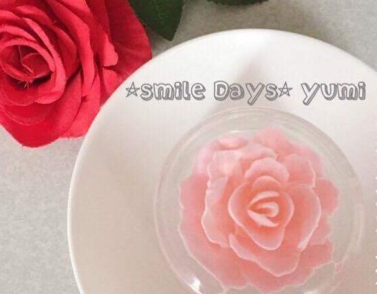 フラワーゼリー薔薇A
